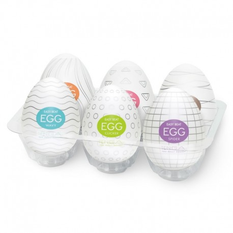 Egg Tenga assortiment (pack of 6).