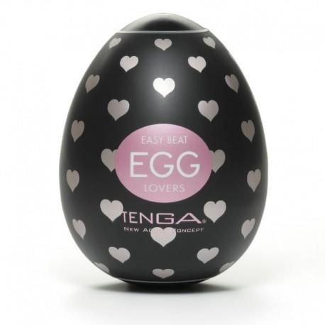One shot Masturbator Tenga Lovers Egg