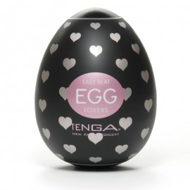 One shot Masturbator Tenga Lovers Egg