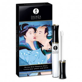 Shunga Divine Oral Pleasure Gloss Coconut