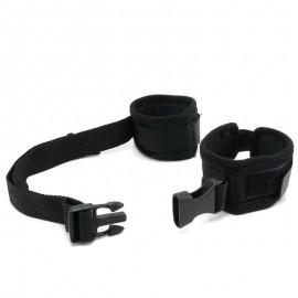 Einstellbare SM Handschellen aus Nylon