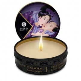 Parfümierte Massagekerze Shunga - Libido Fruits Exotiques