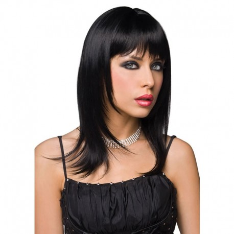 Fancy black wig - Steph
