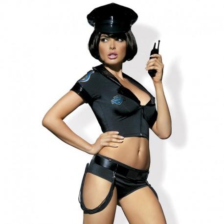 Uniforme sexy de policière - Obsessive