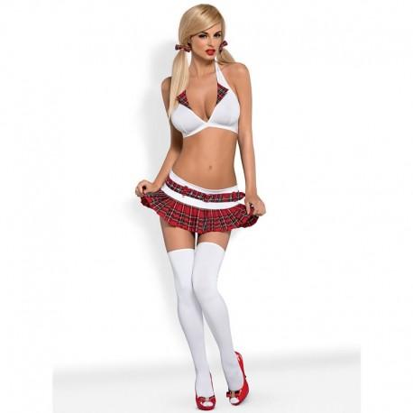 Fille sexy en tenue d'écolière sexy - Obsessive Schooly costume
