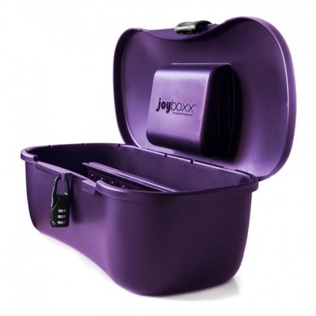 Boîte de rangement hygiénique pour sex toys - Joyboxx violet