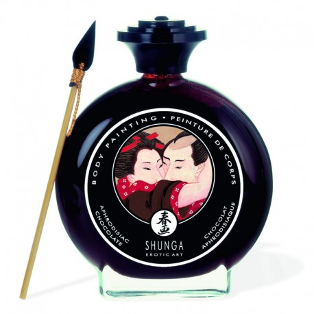 Shunga Body Painting - Aphrodisiac Chocolate