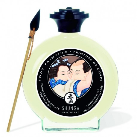 Shunga Body Painting - Vanilla & Chocolate