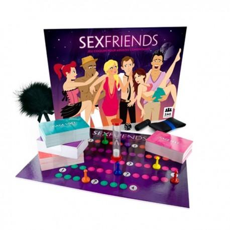 Freches Spiel für Erwachsene Sexfriends