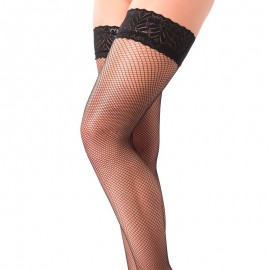 Rimba Black fishnet Hold-up stockings - 1465