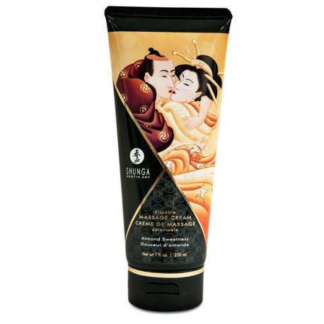 Kissable massage cream Shunga - Almond Sweetness