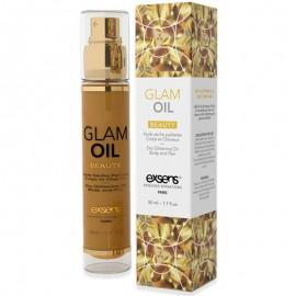 Exsens Glam Oil – Huile sèche pailletée corps et cheveux