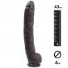 Extra große Dildo Onno 37cm – Dark Crystal