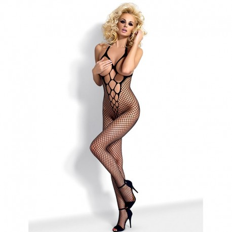 Bodystocking N106 Nero - Obsessive