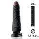 Dildo anale con ventosa 18.5cm Nero - Pipedream Real Feel Deluxe N°3