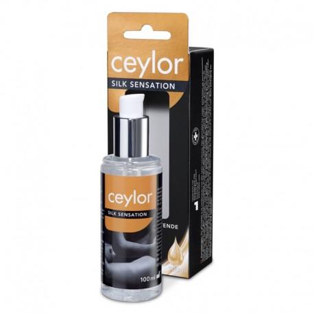 Ceylor Silk Sensation - Gel lubrifiant et massant au silicone