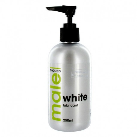 White Anal lubricant 250ml - Male
