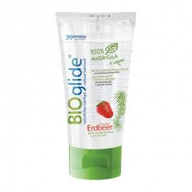 Bioglide Anal Erdbeer 80ml - natürliches Gleitmittel Joydivision