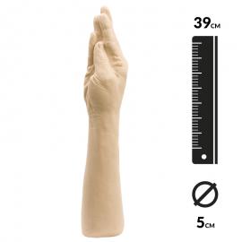 Godemichet géant Fist Of Adonis The Hand - Doc Johnson