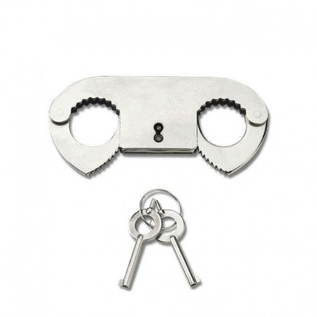 Manette Metal Thumb Cuffs - Pipedream
