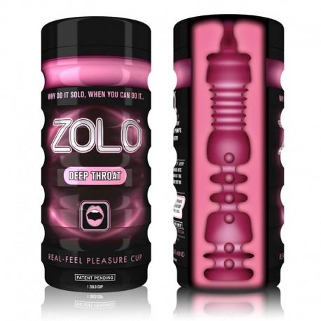 Masturbateur Zolo Deep Throat Cup (gorge profonde)
