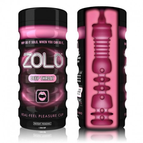 Masturbator for men Zolo Deep Throat Cup