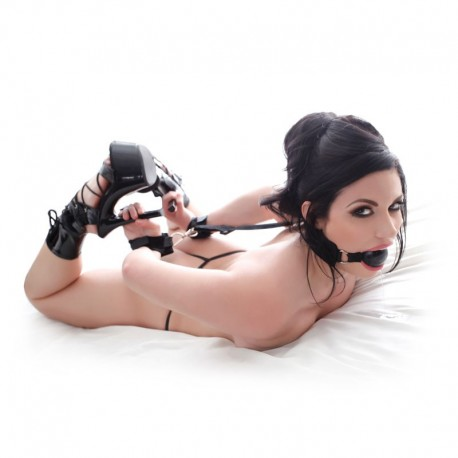 Knebelkugel Gag & Wrist Restraint - Pipedream