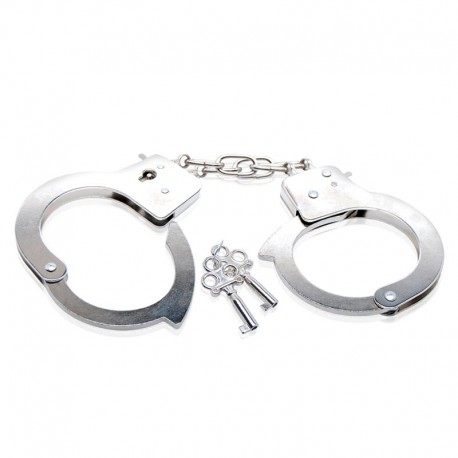 Handschellen SM Beginner Metal Cuffs - Pipedream