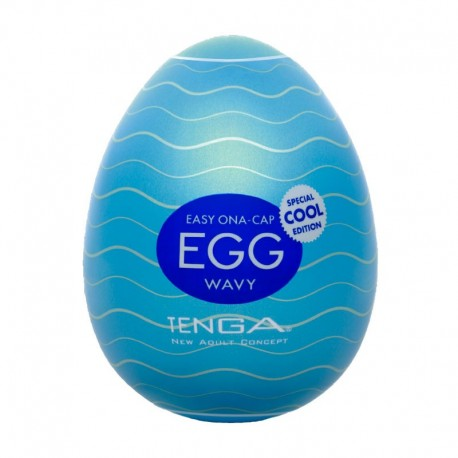 Masturbator Tenga Egg Cool Edition