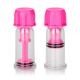 Mini succhia capezzoli Vacuum Twist Suckers Pink - Calexotics