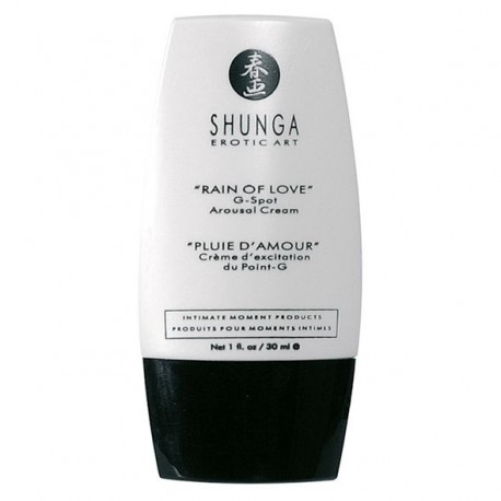 "Crema stimolante per punto G ""Rain of Love"" - Shunga"