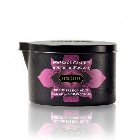 Kamasutra Cocoa Mint Seduction Massage Oil Candle 170gr