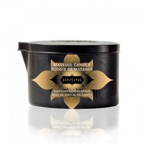 Kamasutra Tahitian Sandalwood Massage Oil Candle 170gr