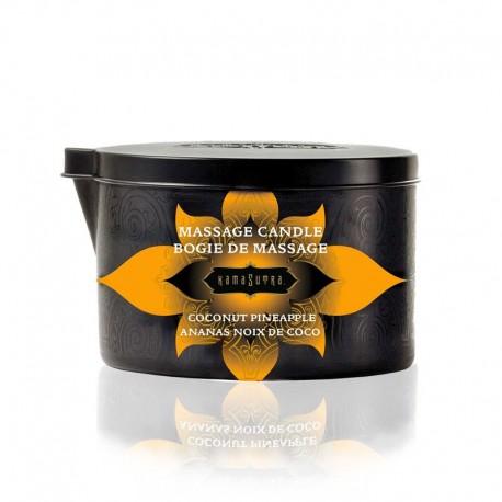 Bougie de massage Kamasutra Noix de Coco Ananas 170gr
