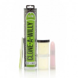 Clone A Willy Kit Glow-in-the-Dark Green
