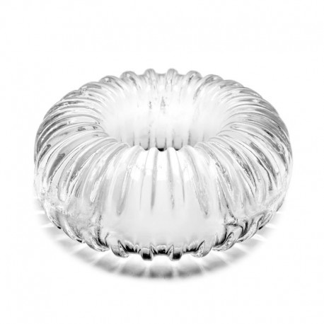 Anello fallico Ribbed Ring Clear - PerfectFit