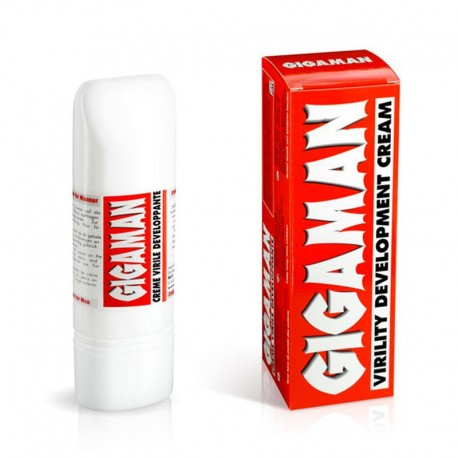 Gigaman - Crème developpante pour penis