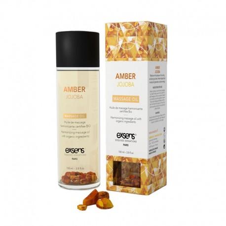 Bio Exsens Massageöl - Amber Jojoba
