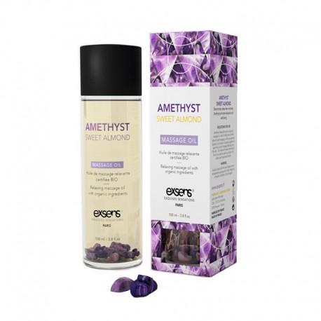 Exsens olio per massaggi Bio - Amethyst Sweet Almond