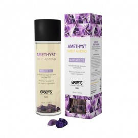Bio Exsens Massageöl - Amethyst Sweet Almond