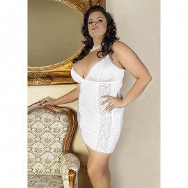 Sexy Mini Dress White C/4013 - Andalea