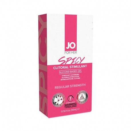 Gel clitorideo extra stimolante Spicy - System Jo