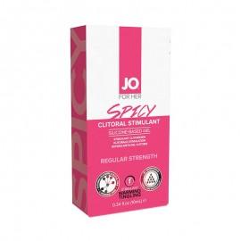 Gel de stimulation clitoridien 10ml Spicy - System JO