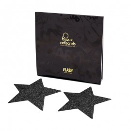 Nippies Flash Star Nero - Copri capezzoli