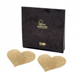 Nippies Flash Heart Gold - Copri capezzoli