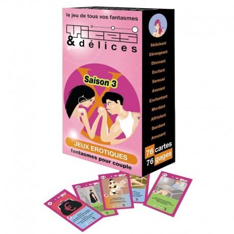 Vices & Délices Saison 3 - Jeux de cartes coquins