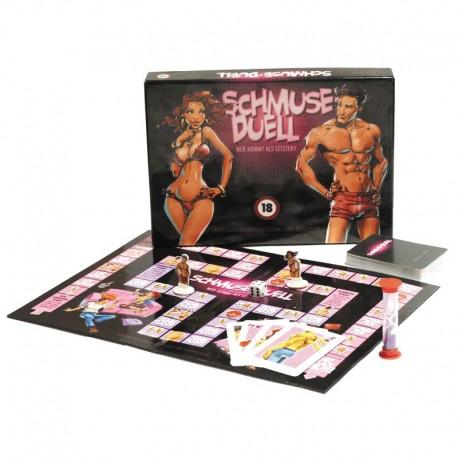 Schmuse-Duell - erotisches Spiel