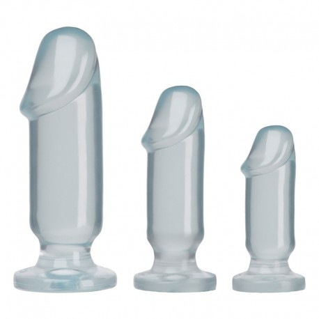 Plug anal Starter Kit Clear - Doc Johnson