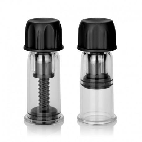 Mini Pumpen für Nippel Vacuum Twist Suckers Schwarz - Colt