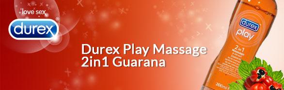 Durex Play massage 2in1 Guarana